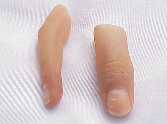 Silicone Prosthetic Fingers