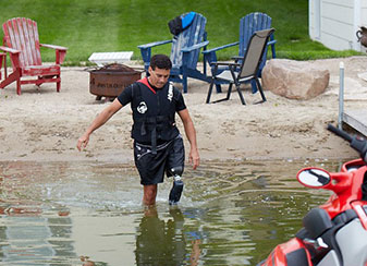 Waterproof Prosthetic Leg