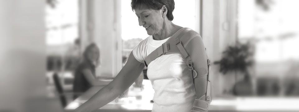Shoulder pain after a stroke